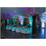 buffet de debutante jantar local Zona Leste