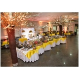buffet de evento corporativo Suzano