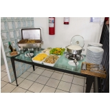 buffet infantil com churrasco