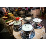 buffet para evento corporativo local Suzano